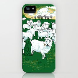 Hide & Sheep iPhone Case