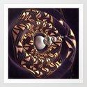 Bullseye Spiral by awe_motion