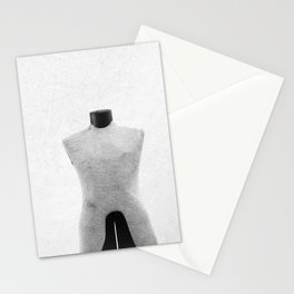 Vintage Dress Form in Black and White Stationery Cards