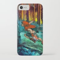 red hood iPhone & iPod Cases featuring Red Hood by Artgerm™