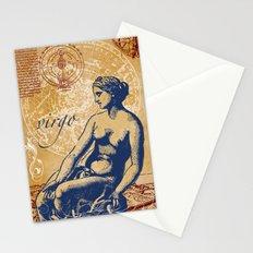virgo   jungfrau Stationery Cards