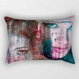 Breaking Berlin Walls Rectangular Pillow
