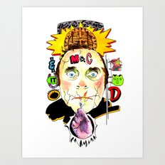 SNICK or TREAT. Art Print
