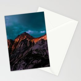 The Volcano Mountain (Color) Stationery Cards