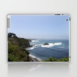Crashing Waves On California Coastline Laptop & iPad Skin