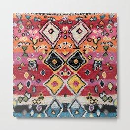 Traditional Moroccan Berber Style,2 Metal Print