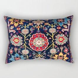 Shirvan Caucasian Afshan Antique Rug Print Rectangular Pillow
