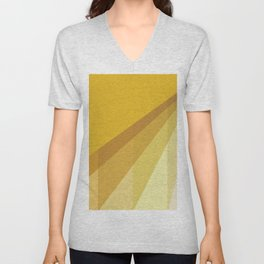 New Heights - Gold Unisex V-Neck