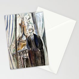 Robert Delaunay The poet Philippe Soupault Stationery Cards