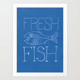 Fresh Fish Art Print
