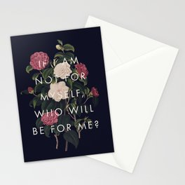 The Theory of Self-Actualization I Stationery Cards