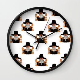 Queen Bey Formation Lemonade Wall Clock