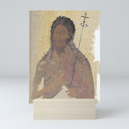 John the Baptist of Macedonia Religious Icon (by ACCI) Mini Art Print
