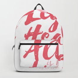 Allah the light is saying Backpack
