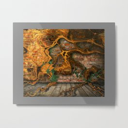 the root cause Metal Print