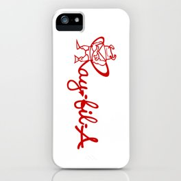 Ray Fillet's Ray-fil-A iPhone Case
