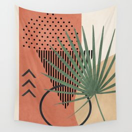Nature Geometry II Wall Tapestry