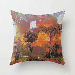 Chaosasaurus Throw Pillow