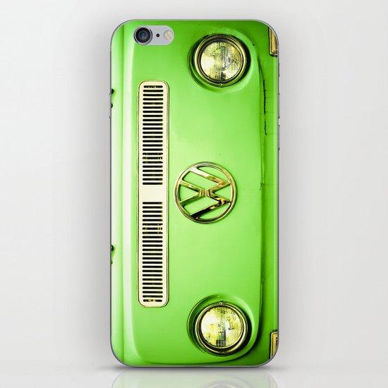 Summer of Love - Groovy Green iPhone & iPod Skin