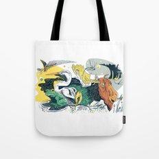 Animals in Nature Tote Bag