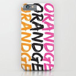 Orandge iPhone Case