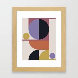 Mid Century Modern Abstract II Framed Art Print