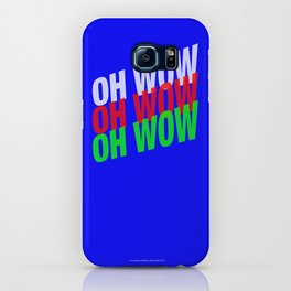 OH WOW #3 iPhone Case