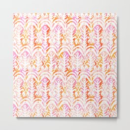 palm springs balinese ikat mini Metal Print