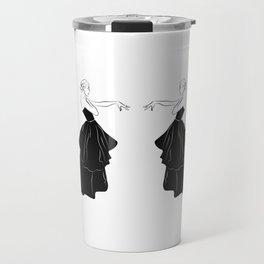 Bettina Graziani Fashion Illustration Travel Mug