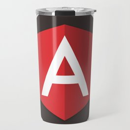 Angular Js developer sticker angularjs javascript framework Travel Mug