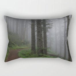 Forest of Fog Rectangular Pillow
