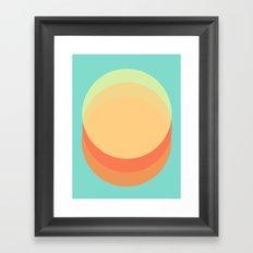 Only Skin Framed Art Print