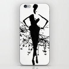 Goddess art print iPhone Skin