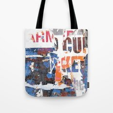 Collide 2 Tote Bag