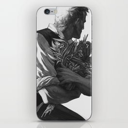 Flower Guy iPhone Skin