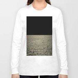 mareggiata dorata Long Sleeve T-shirt