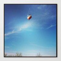 ballon Canvas Prints featuring Ballon by Yellow Barn Studio