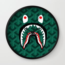 Bape Goyard Wall Clock