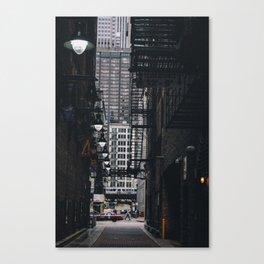 Loop Alley Canvas Print