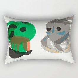Garrus and Thane Rectangular Pillow