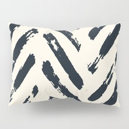 Retro Chevron Pattern 02 Pillow Sham