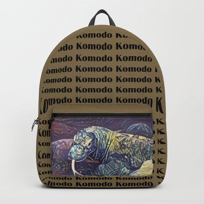 Komodo Dragon Rucksack