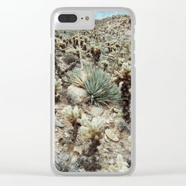 Mountain Cholla Clear iPhone Case