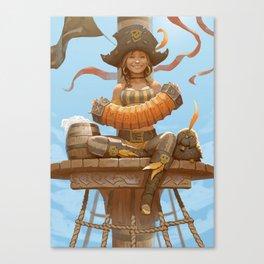 Merry Minstrel 2 Canvas Print