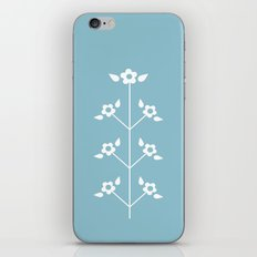 Blue Sprig iPhone & iPod Skin