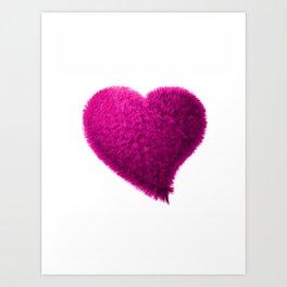 Pink heart, Pink love heart, Pink Heart art, Love heart print, Large heart print, Valentines Heart Art Print