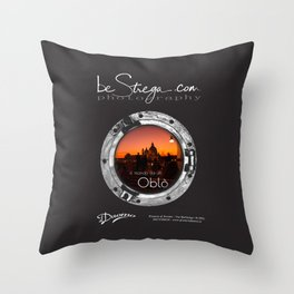 Oblo by be Strega | Opening event edition Throw Pillow