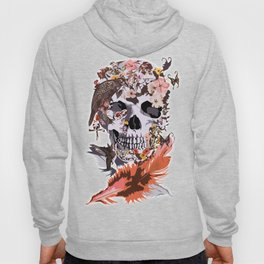 Birds, butterfly and Sugar Skull Hoody