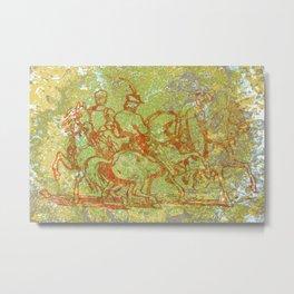 The Horsemen Metal Print