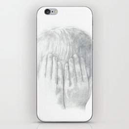 You Can't See Me iPhone Skin